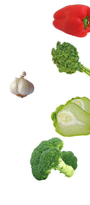 vegetable right