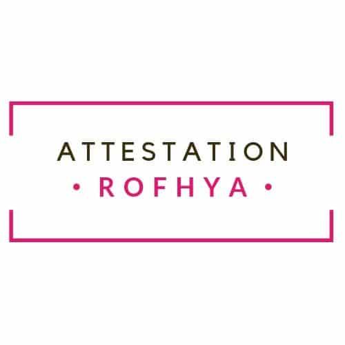 ATTESTATION ROFHYA ACF
