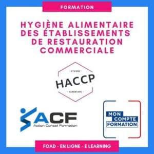 FORMATION HYGIENE ALIMENTAIRE A DISTANCE