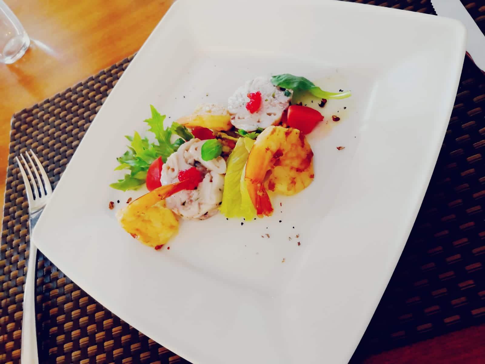 Supio cuit basse température risotto de légumes et oeufs de lompe