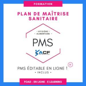 FORMATION en ligne PMS
