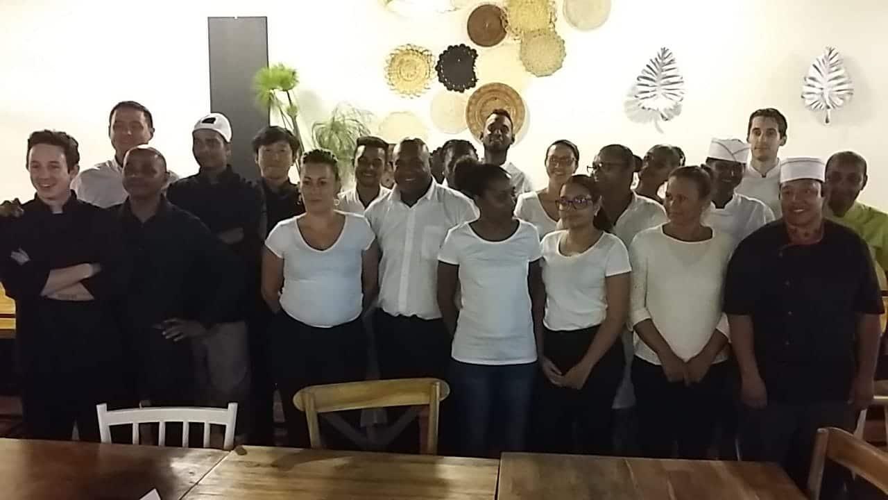 ACTION CLASS 2019 CUISINE ET SERVICE EN SALLE À SAINT ANDRÉ (974)