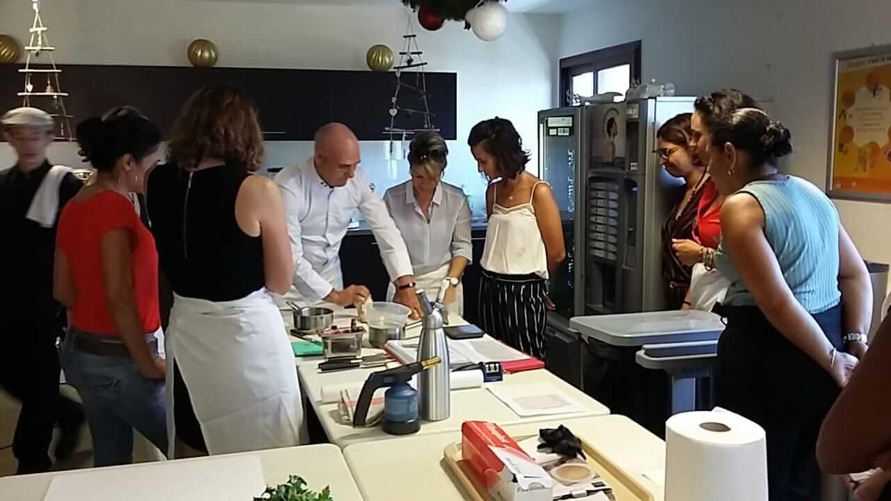 Prochainement des cours de cuisine basse température sous-vide pour les particuliers à Narbonne