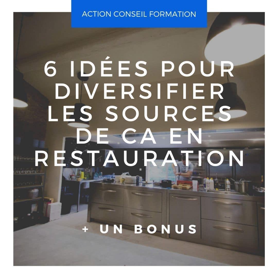 6 idées pour diversifier les sources de CA en restauration