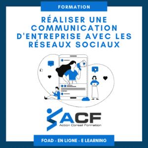 Réaliser une communication d'entreprise avec les réseaux sociaux