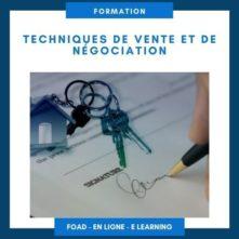 Formation Techniques de vente et de négociation